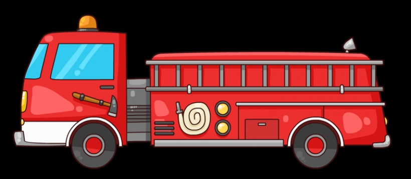 Fire Truck clipart cute Art truck to use art