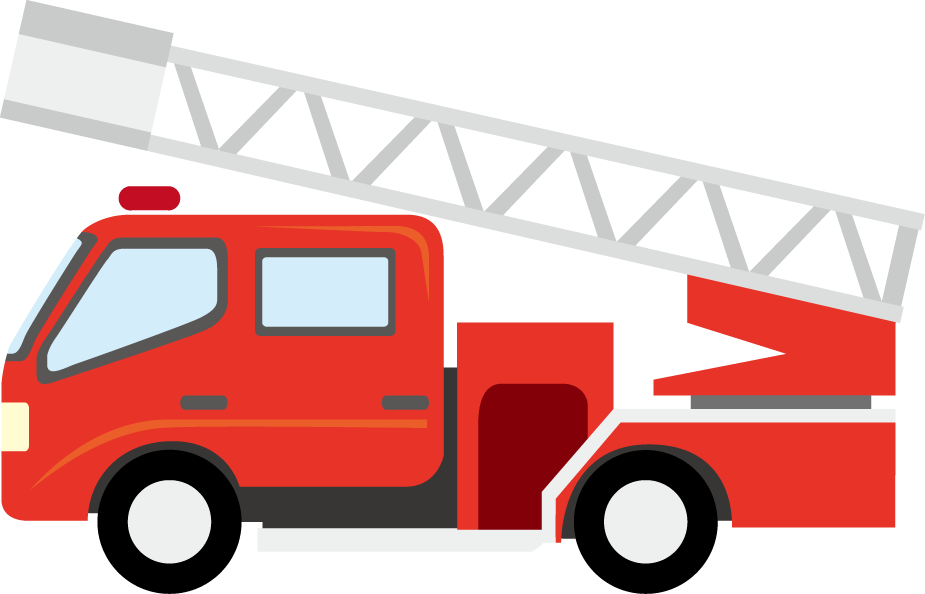 Fire Truck clipart simple #7