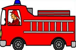 Clipart fire engine free fire