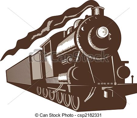 Steam clipart front Euro front Clipart steam train