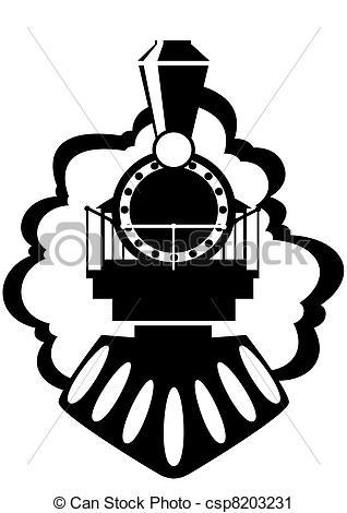 Train clipart locomotive #3