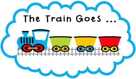 Locomotive clipart long train Kids Image Train For Free