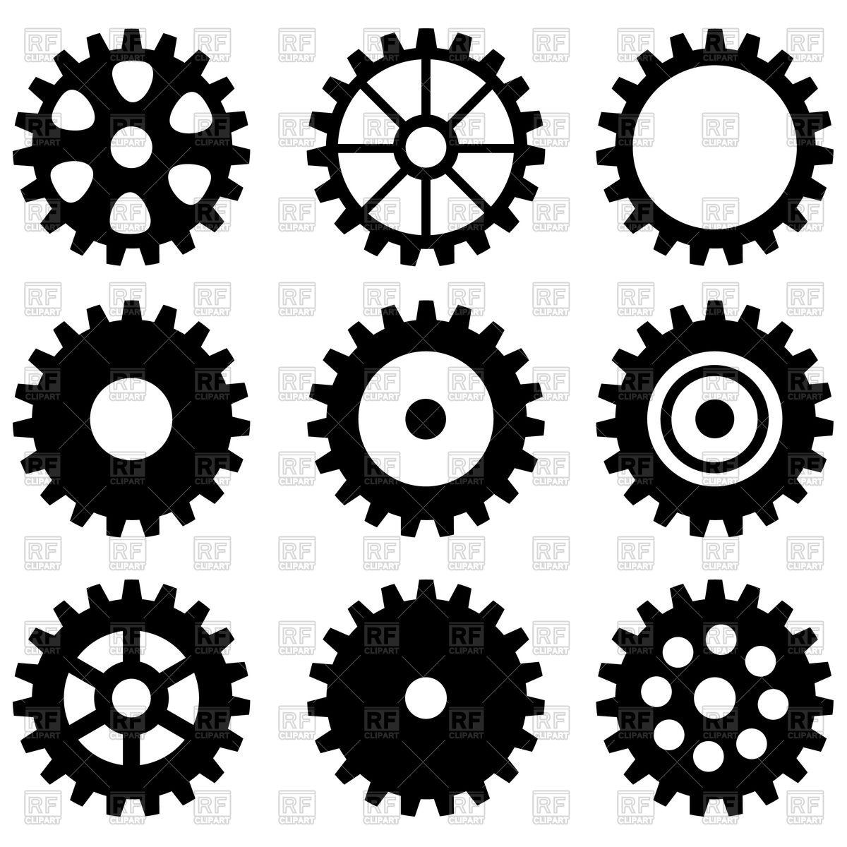 Gears clipart machine gear — Bike (6416) Clipart Free