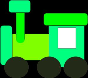 Engine clipart green train Train Green  com vector