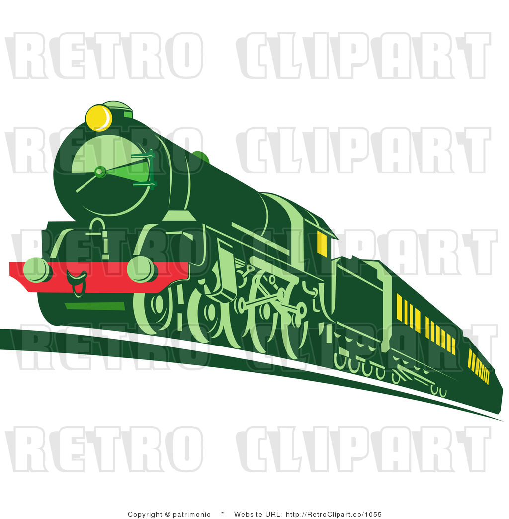 Engine clipart green train Front Clip Images Clipart Clipart