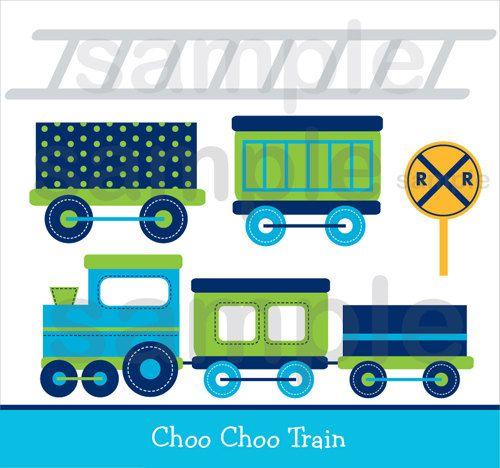 Engine clipart green train Choo Art 40 Train Clip