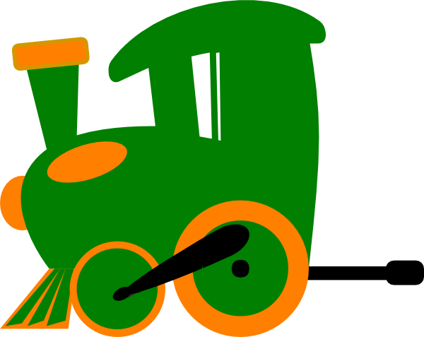 Engine clipart green train This Toot art at Clker
