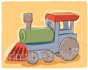 Engine clipart green train Toy Clipart Baby Vehicle Clipart