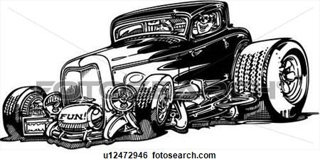 Engine clipart hot rod Hot car  Art hot
