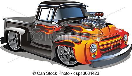 Engine clipart hot rod Hot Illustration white of isolated