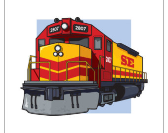 Locomotive clipart diesel train (76+) train engine Train Clipart