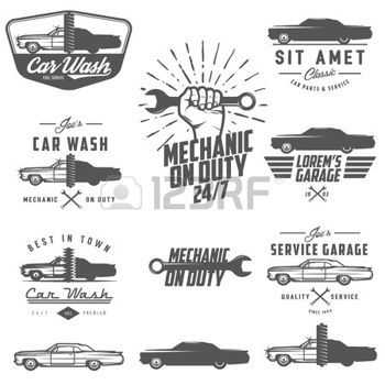Engine clipart auto mechanic Emblems shop ideas repair elements