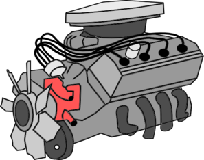Engine clipart motion Free Art Free  Motor