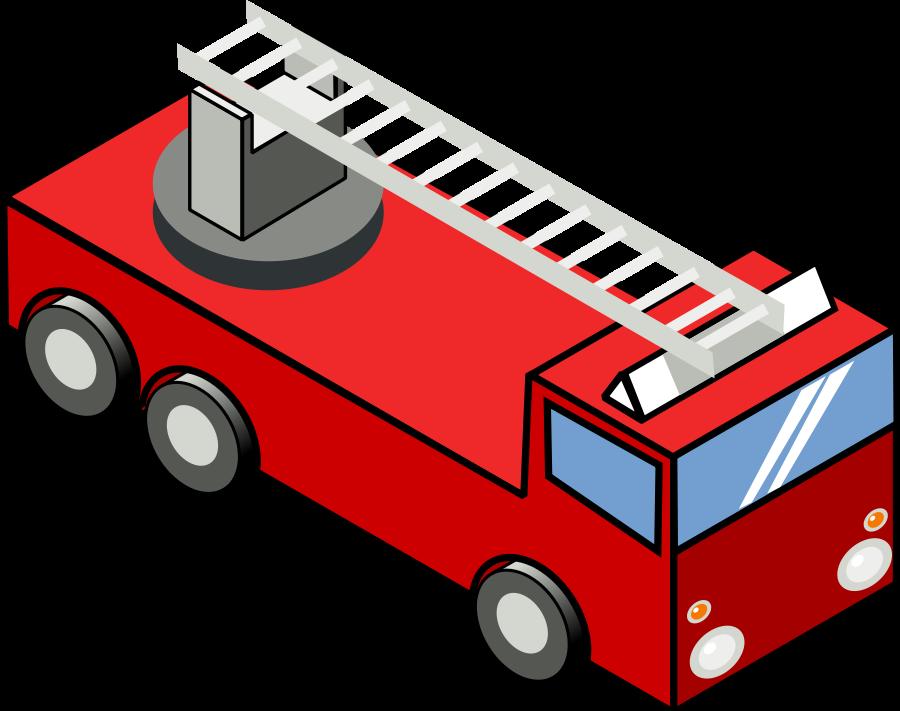 Fire Truck clipart house fire #1
