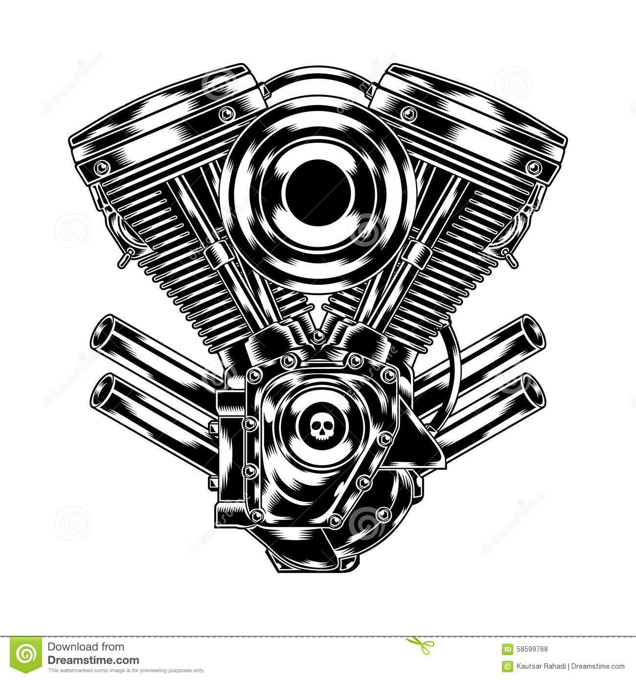 Engine clipart motorbike Panda Engine Clipart Free Images