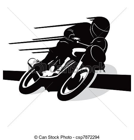 Logo clipart motorcycle Vector vector background vector