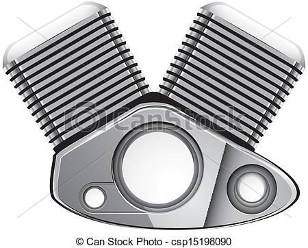 Engine clipart motorcycle Vector EPS engine motorcycle engine