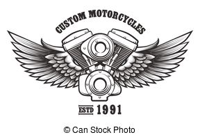 Engine clipart auto mechanic Workshop  Motorcycle Vector engine