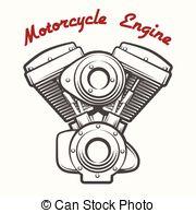 Engine clipart motorcycle Motorcycle Vector Emblem Engine engine
