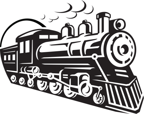 Engine clipart old train Old Clipart Art from Trains