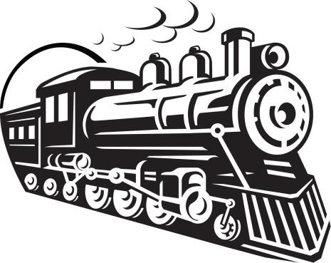 Engine clipart old train Icon Railroad Clipart Clip Art