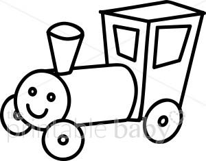 Engine clipart outline Train Vehicle Train Clipart Engine