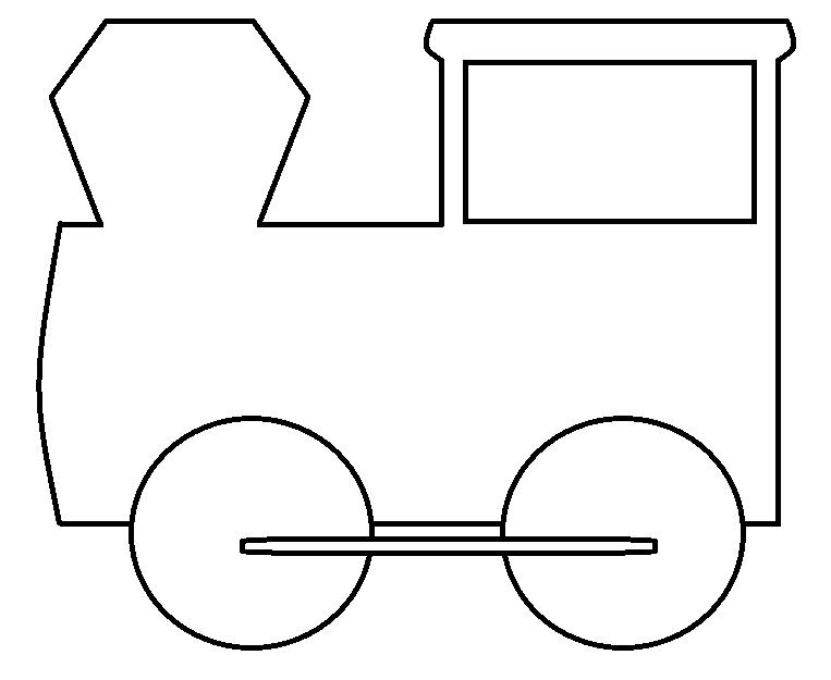 Engine clipart outline Train Art  Train Download