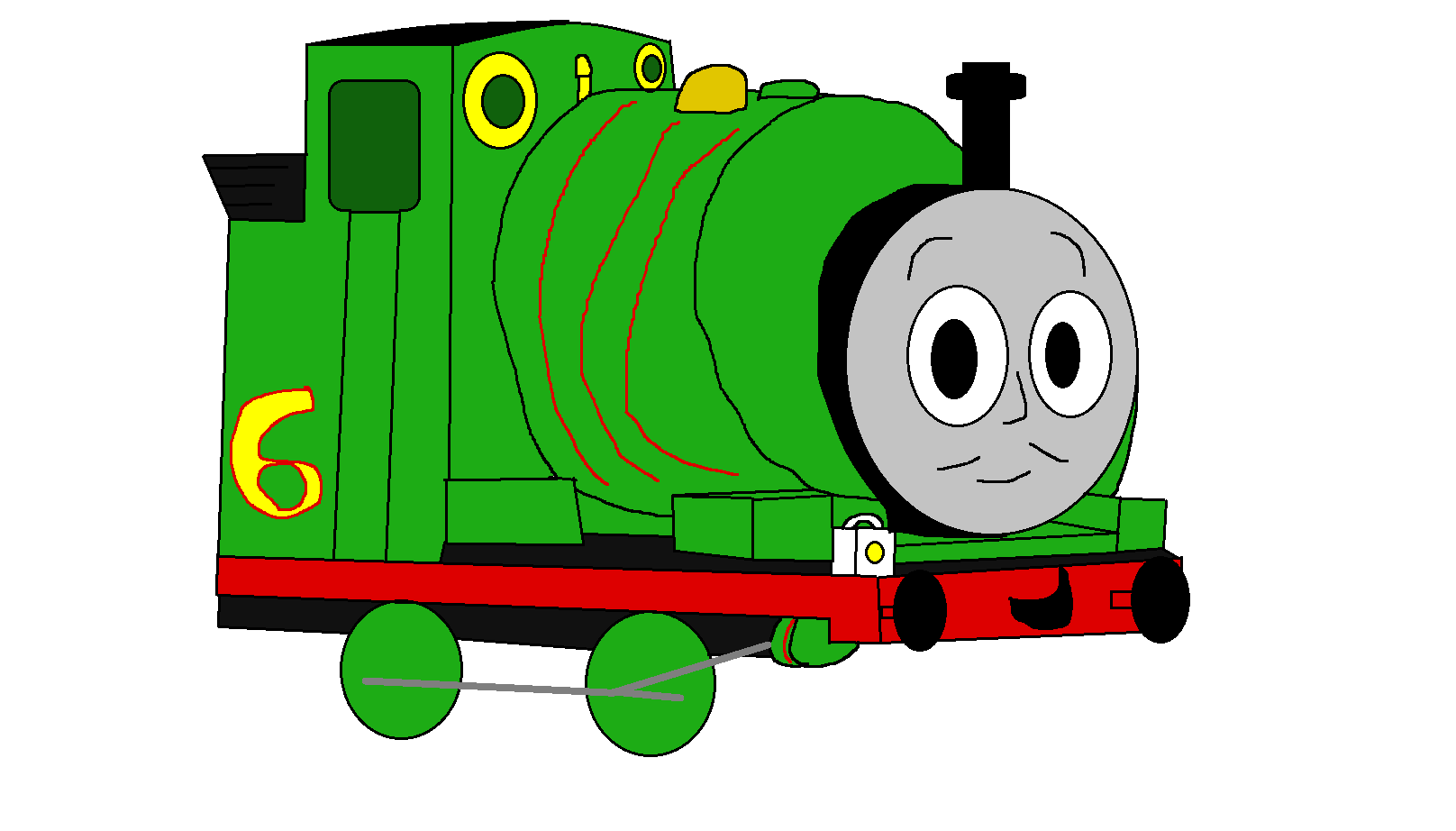 Engine clipart percy Small Me By  by