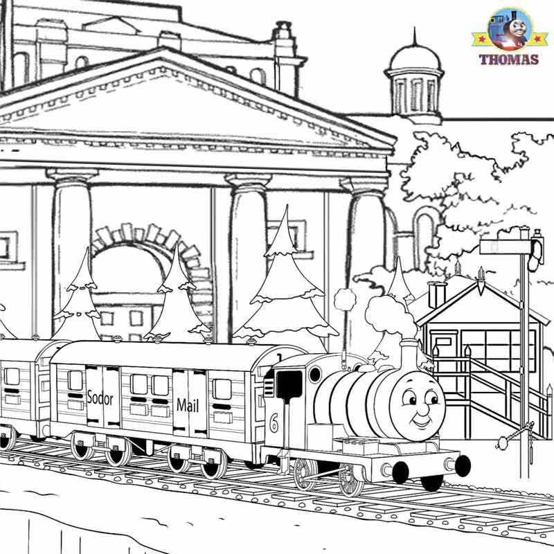 Engine clipart percy Of & print Pages Clip