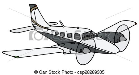 Engine clipart plane  EPS Twin of a