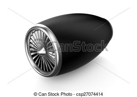 Engine clipart auto mechanic Background of turbine isolated Free