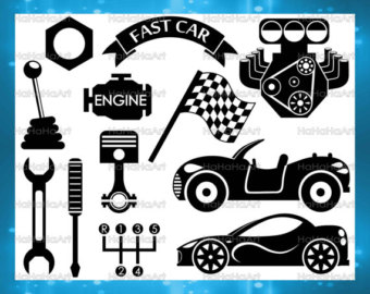 Engine clipart race engine Svg car Png clipart Files