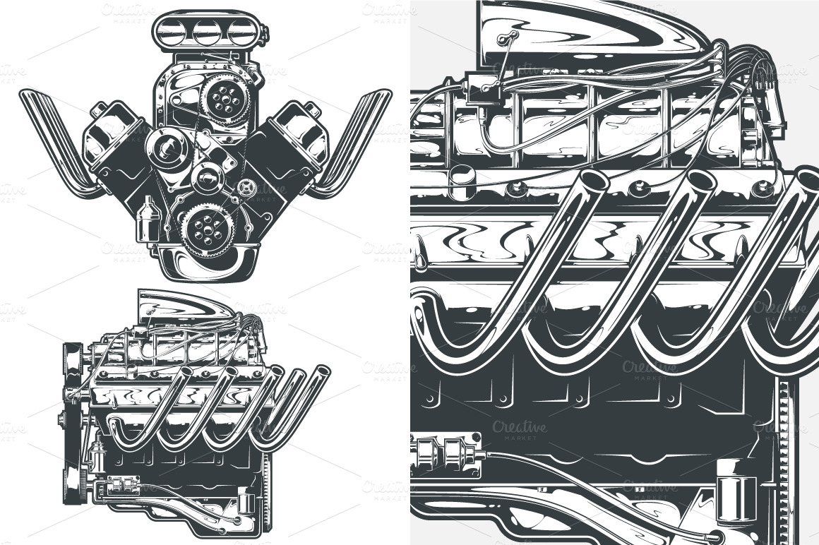 Engine clipart race engine Likewise Car Internal old Bustion