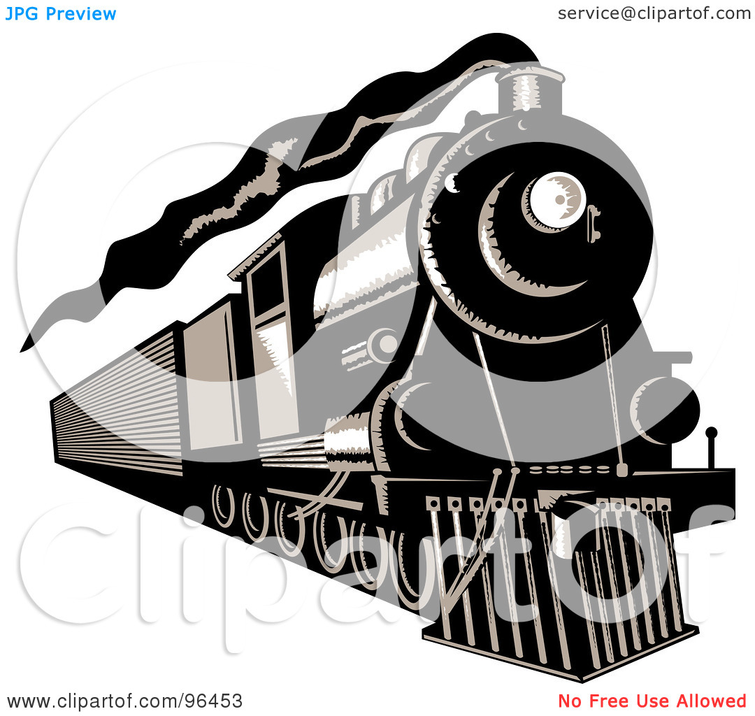 Locomotive clipart diesel train Clipart Train Train Engine Panda