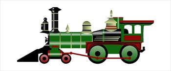 Steam clipart train engine Clipart Railway locomotive Clker com: