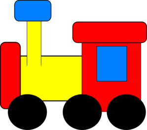 Train clipart number train #1