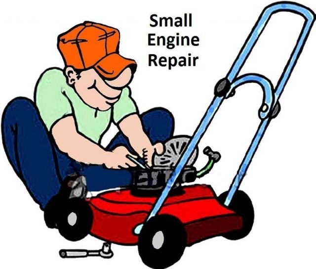 Engine clipart small engine Lawnmower Fix CD Bike Small