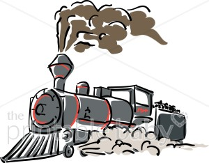 Engine clipart steam train Engine Clipart Baby Vehicle Gray