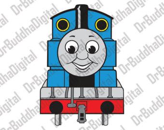 Engine clipart thomas train Thomas tank Etsy Train Thomas