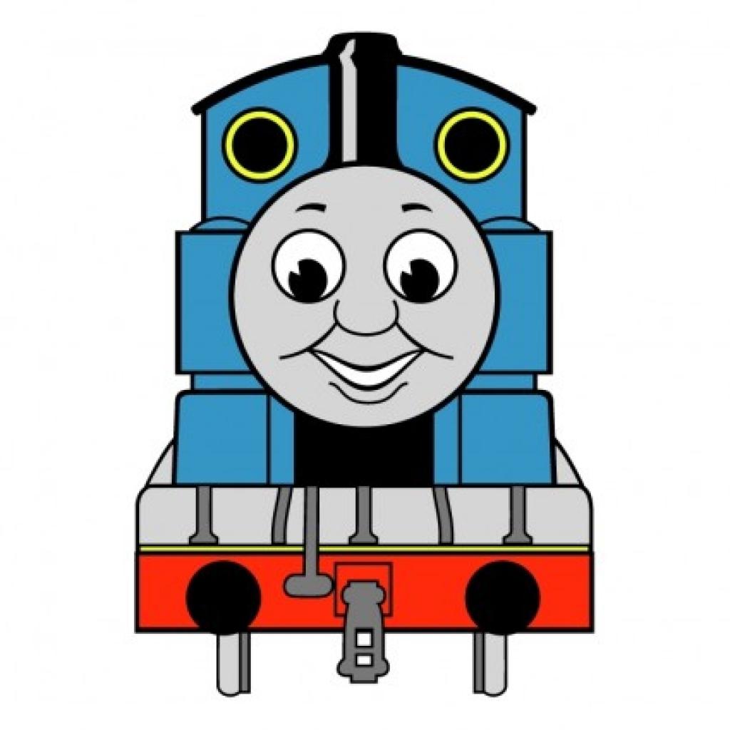 Engine clipart thomas train Train clipartsco clipartsco thomas art