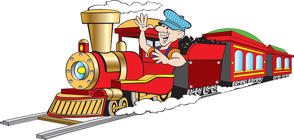 Railways clipart train driver #1