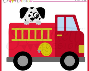 Engine clipart transportation Etsy clipart dalmatian clipart Truck