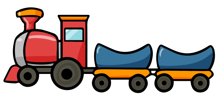 Railways clipart cute #13