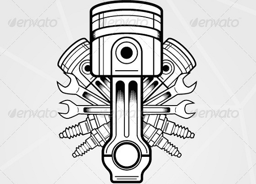 Engine clipart vector free download Download Clipart Parts Engine Engine