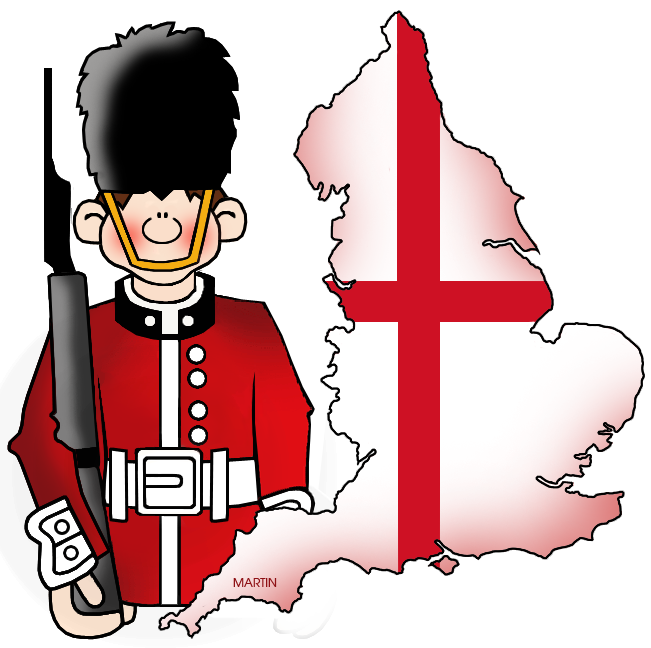 England clipart Map by England Art collection