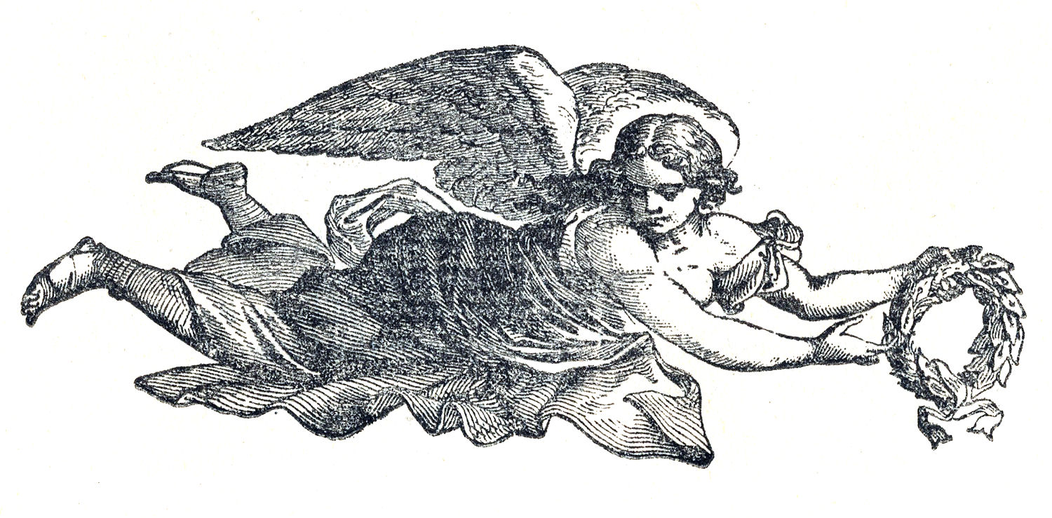 Angel clipart medieval #4