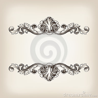 Engraving clipart border Engraving Dreamstime vector  by