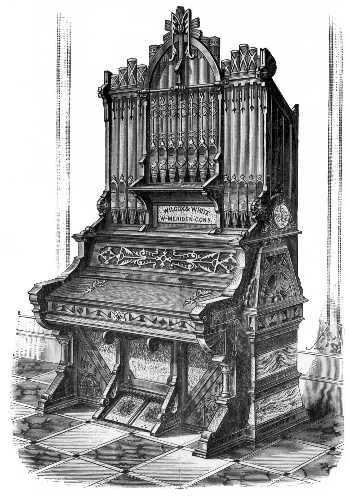 Engraving clipart church organ Day organ request  as