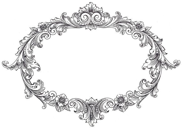 Gorgeus clipart decorative frame FramesVintage on 3 Clip y