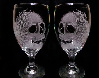 Engraving clipart glassware And glasses hand Glass custom